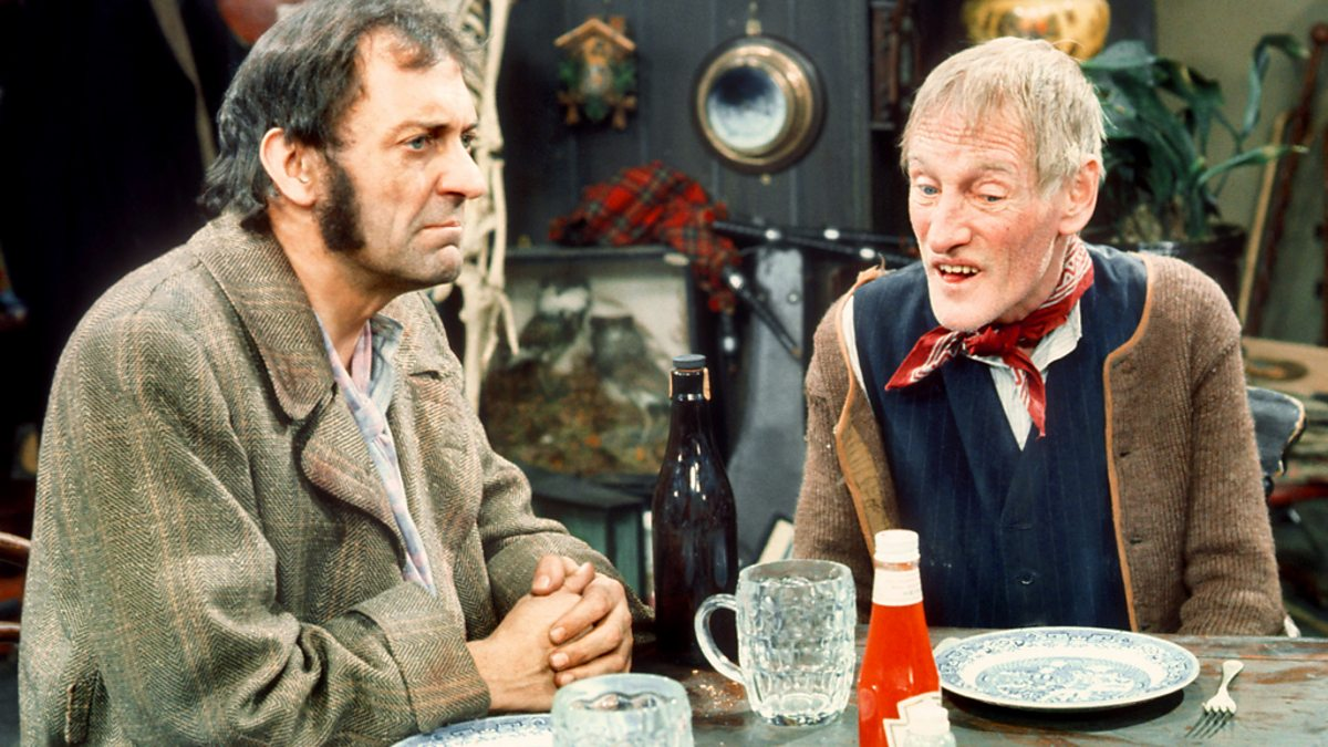 Wilfrid Brambell And Harry H Corbett The Wages Of Sin From Steptoe And Son