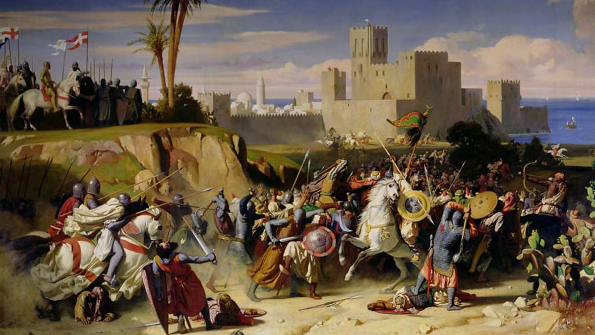 first crusade The crusades were expeditions undertaken, in fulfilment of a solemn vow, to deliver the holy places from mohammedan tyranny the origin of the word may be traced to the cross made of cloth and worn as a badge on the outer garment of those who took part in these enterprises.