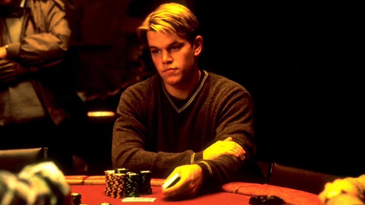 Poker matt damon