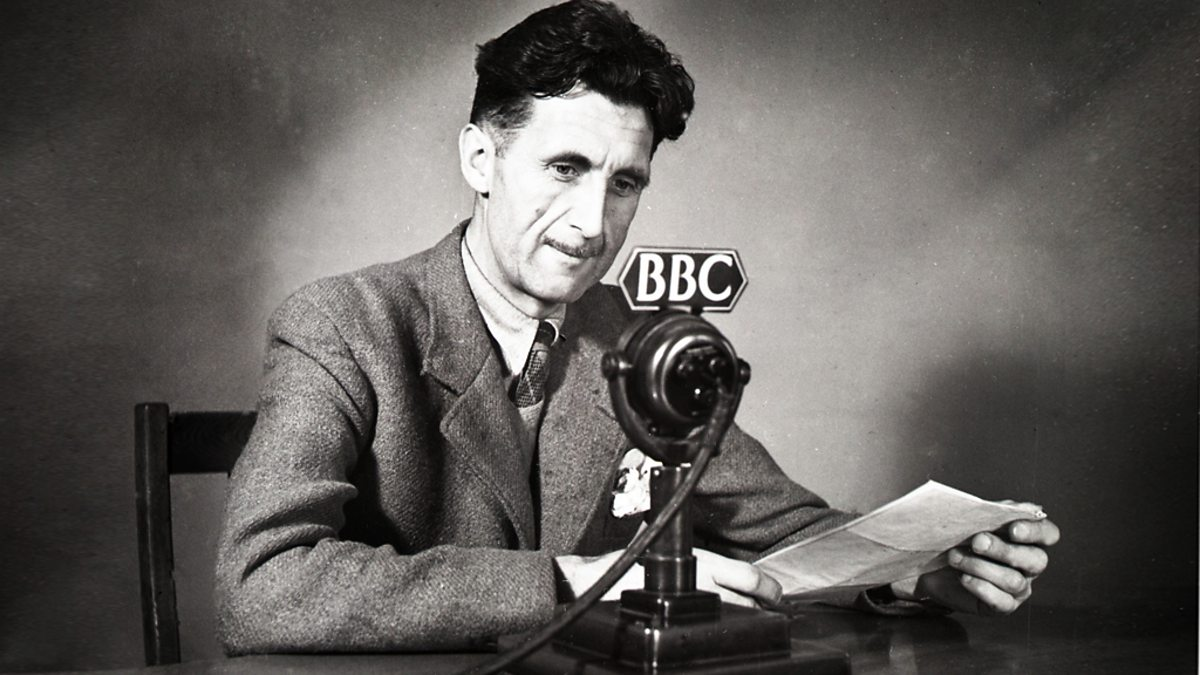 A biography of george orwell and his political ideas