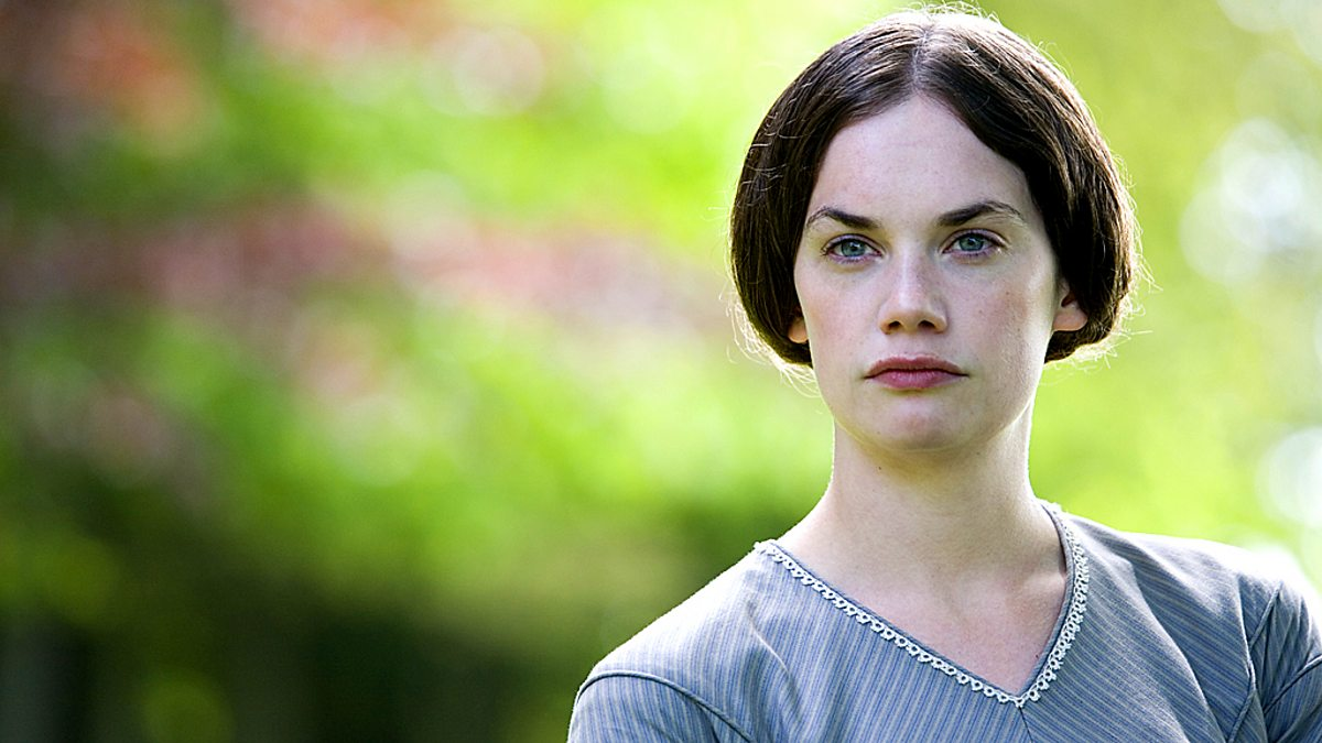 How does Charlotte Bronte create sympathy for Jane Eyre