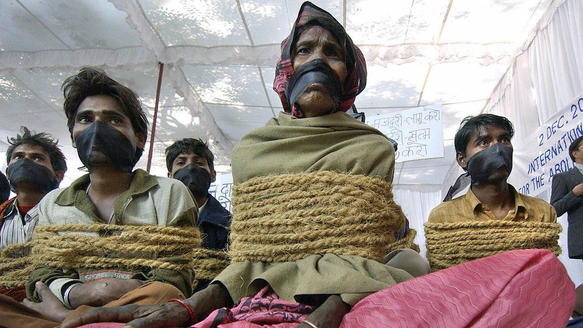 Modern child slavery