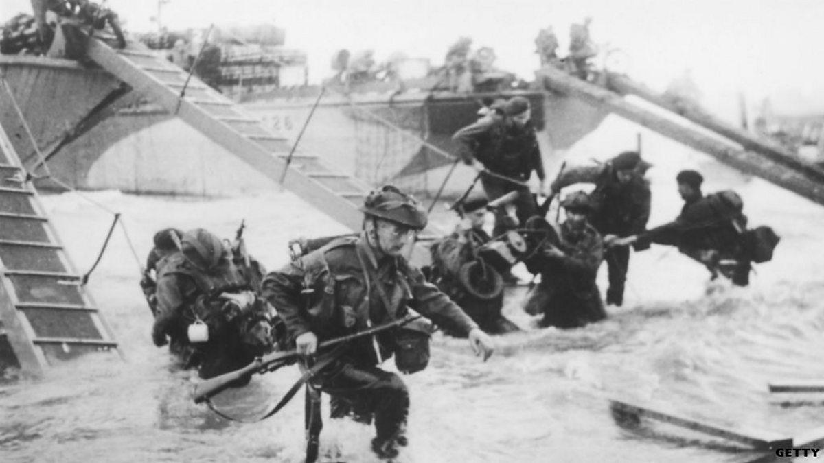 D-day 1944 sword beach  british airborne landings howard gerrard, ken ford