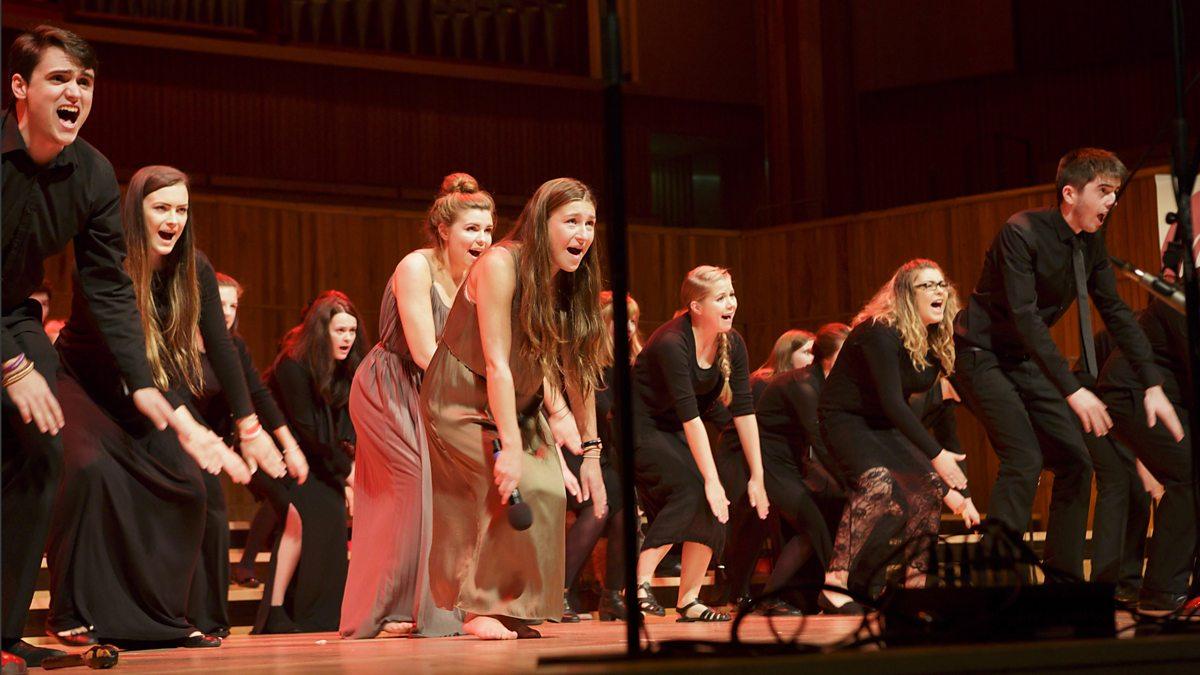 YOUNGHEART  Senior Citizen Chorus Performs Rock Songs