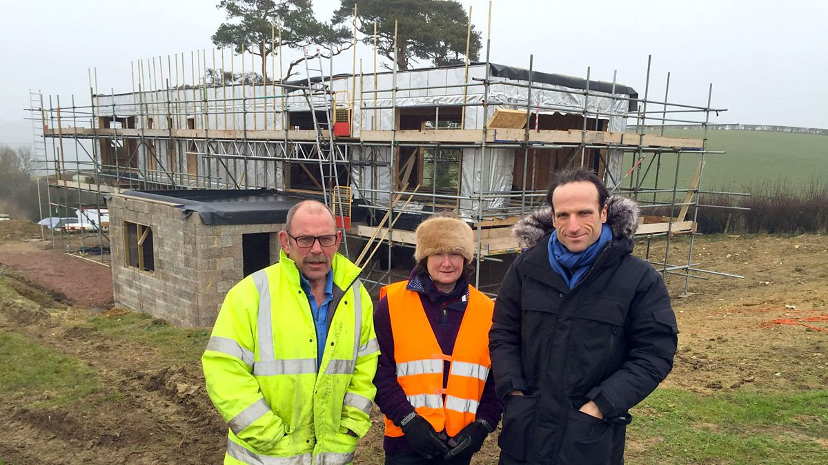 Bbc two the house that 100k built series 2 sue and tim for Build a house for 100k