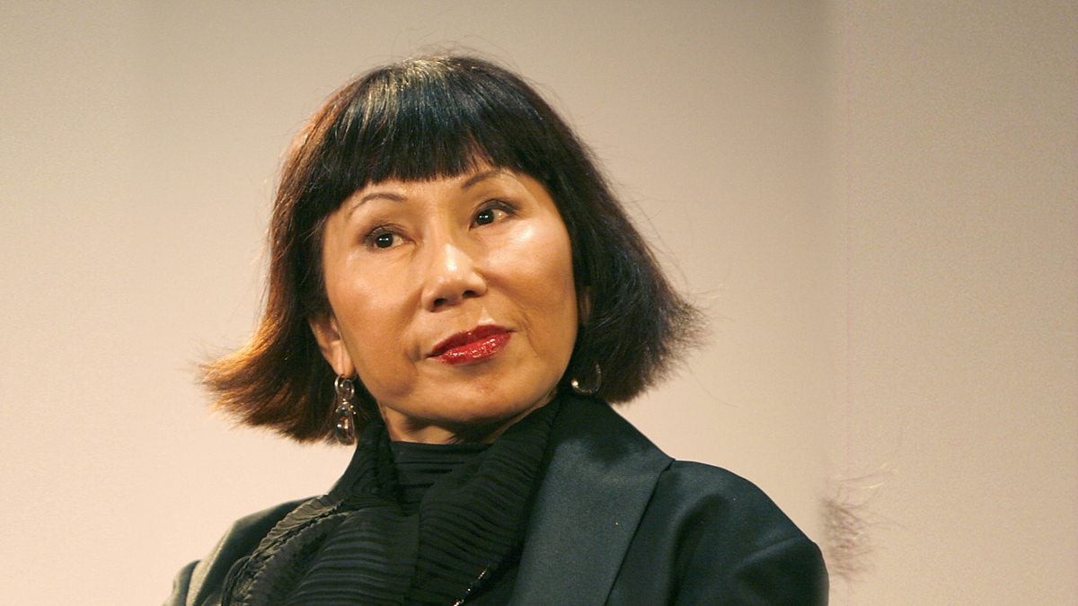 Could anyone help me find good examples of imagery in Amy Tan's