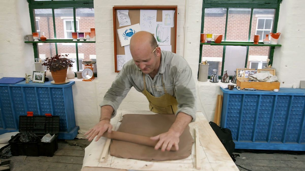 bbc two the great pottery throw down episode 4 slab. Black Bedroom Furniture Sets. Home Design Ideas