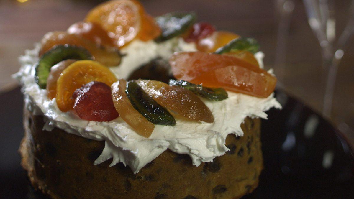 Festive Fruit And Nut Cake Recipe