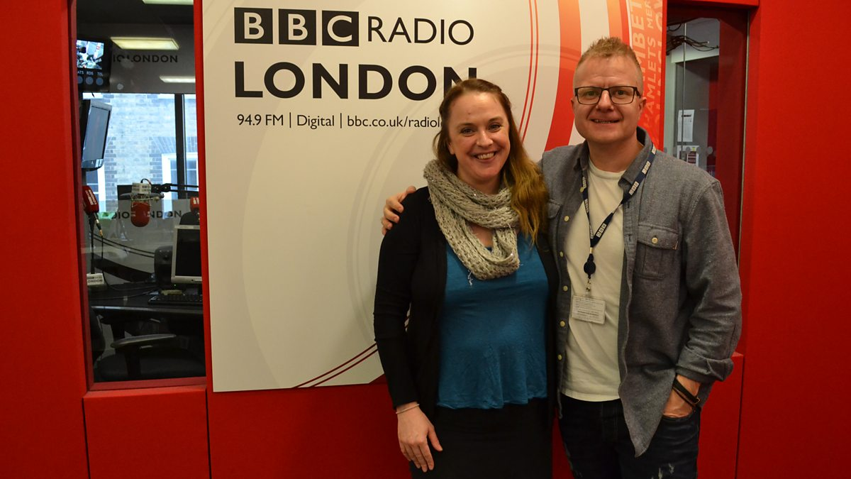 Bbc Radio London Tim Arthur With Gerad Kite Helen