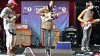 Darwin Deez in the Live Lounge - 19 October 2010 - 7