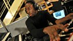 20 Oct 11 - Labrinth in the Live Lounge - 4