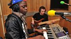 18 Jan 12 - Kaleem Taylor in the Live Lounge - 7
