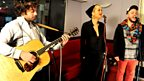 13 Feb 12 - Rita Ora in the Live lounge - 3