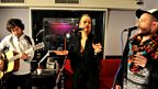 13 Feb 12 - Rita Ora in the Live lounge - 4