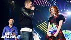 Professor Green and Teen Hero Khloe at Radio 1's Teen Awards 2013