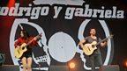 Rodrigo y Gabriela at Glastonbury 2014