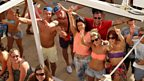 The Cafe Mambo crowd say hi!