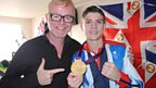 Olympic Boxing gold medallist, Luke Campbell