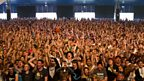 The crowd @ Creamfields 2012