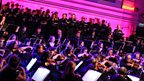 The BBC Philharmonic Orchestra performed at BBC MediaCity in Salford with the Pet Shop Boys.