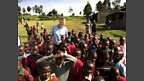 Tom at Kembu Primary School