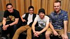 Enter Shikari chill out before their set at Maida Vale