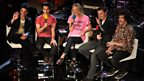 Jo Whiley with Stereophonics at the BBC Radio Theatre