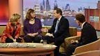 Sofa chat on The Andrew Marr Show, 5th January