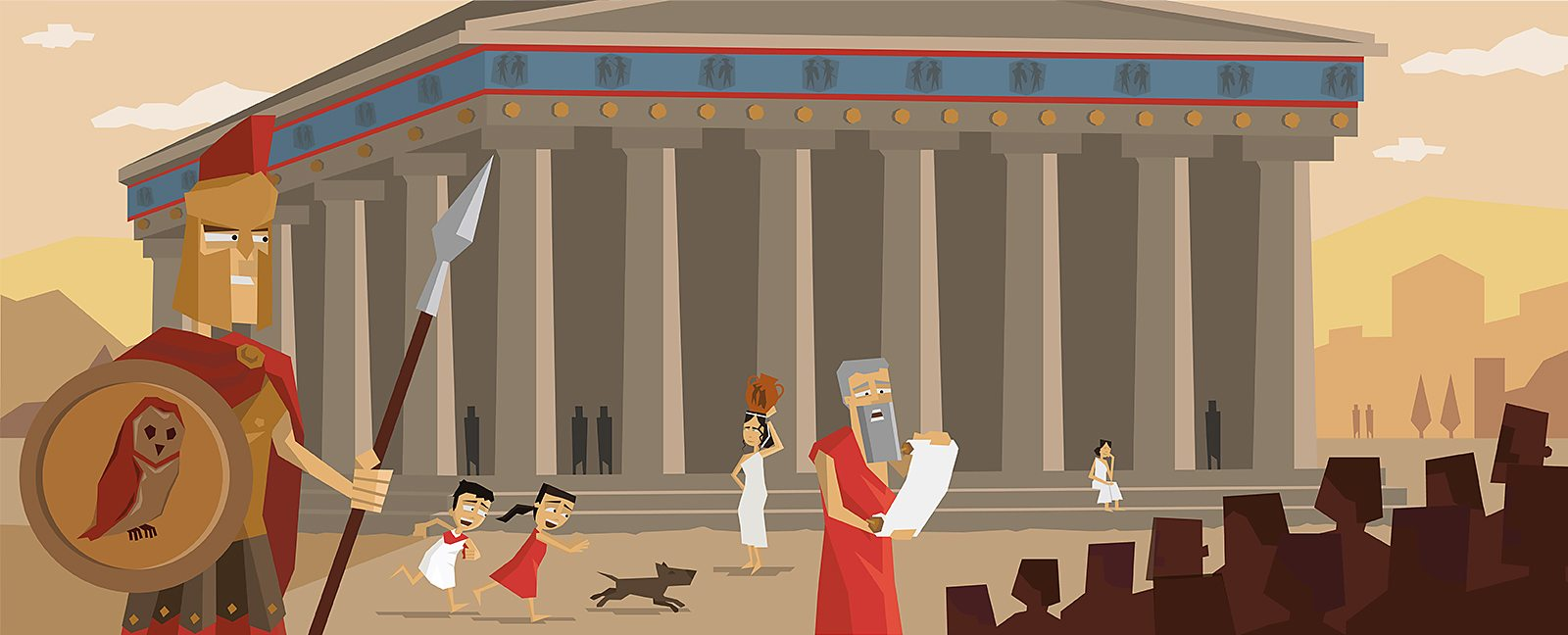 bbc bitesize who were the ancient greek gods and heroes