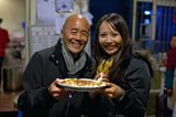Ken Hom and Ching-He Huang