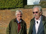Christopher Matthew and Des Lynam at Rugby School
