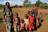 Empowering mothers; Zaituna and her children