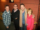 STUDIO PHOTO :: PAUL HODGKINSON, RICHARD COLES, LEE MACK AND SIAN WILLAMS