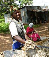 Eunia an HIV widow in Kenya