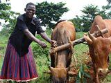 Mrs Dapata in Uganda