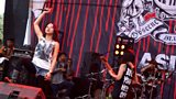 Tokyo's F.I.D. performing at Jakarta's Grindcore festival 'Obscene Extreme'