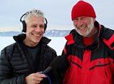 Anson Mackay interviewing on Baikal