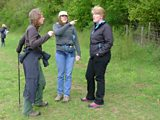 Clare, Cathy and Bonnie
