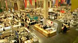 Just one of the dealing halls at the Tucson Gem Show, the largest in the world
