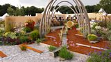 BBC News: Sheffield designers' 'steel' garden scoops gold award