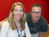 Laura with Mark Millar from DIY SOS