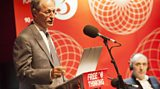 Sir Michael Marmot delivering the Free Thinking lecture