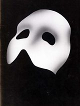 Poster for a production of Phantom Of The Opera