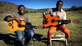 Elemotho and Sam in Windhoek Namibia