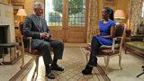 Diane Louise Jordan speaks to HRH The Prince of Wales