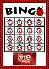 Play Ladybird Bingo!