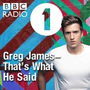 Greg James – That's What He Said