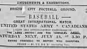 Ashton Gate FC, Bristol: How Baseball Came to Town