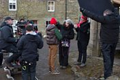 Behind the scenes on Wolfblood Series 3