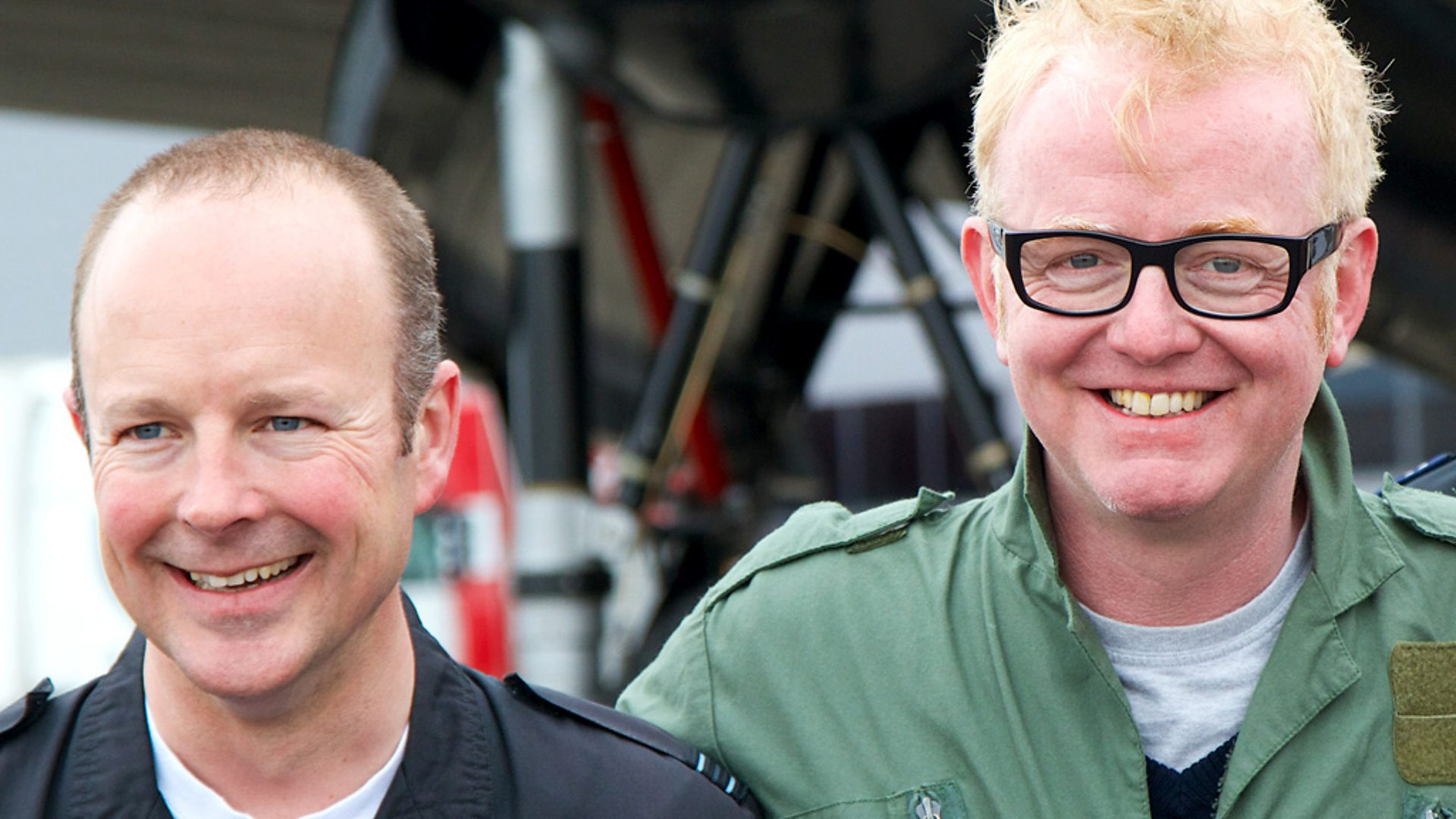 BBC Radio 2 - The Chris Evans Breakfast Show, The Dambusters 70 Years On, Spitfire pilot Duncan Mason starts his engine - p0198svd